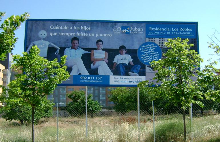 Vallas publicitarias construccion residencial