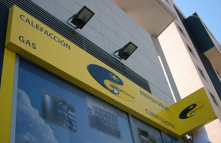 Ene4rgia solar climaticzacon calefaccion gas