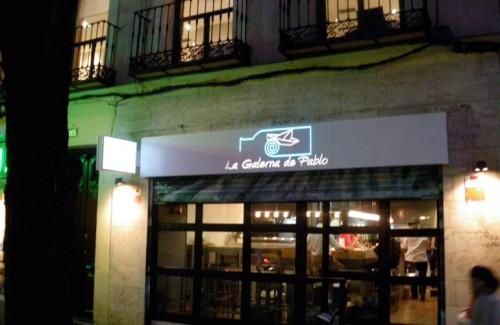 bandejas caladas Bar Restaurante luminoso