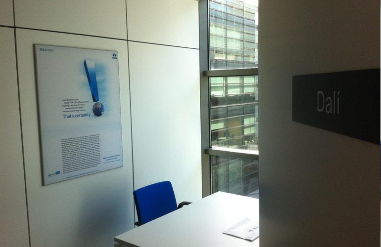 Tata oficinas centrales visualsign for Oficinas nike madrid